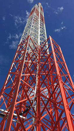 Zambia 45meter cell tower